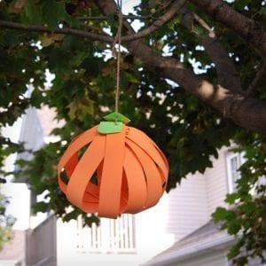 Foam Pumpkin Outdoor Decoration Craft