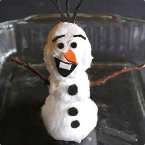 Foaming Snowman Play Stuff