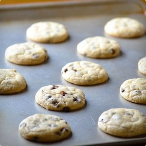 From Scratch Chocolate Chip Cookies