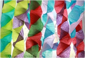 Fun Crepe Paper Streamers