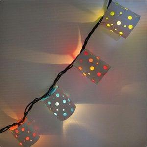 Functional Polka Dot Lanterns