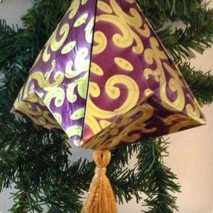 German Bell Ornament Tutorial