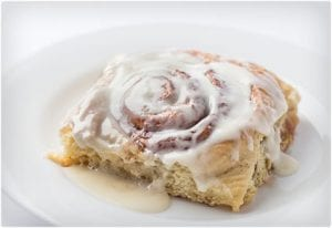 Giant Cinnamon Rolls With Cream Cheese Frosting