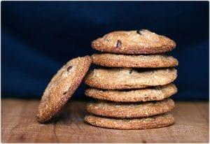 Gluten Free Cashew Chocolate Chip Cookies