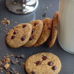 Gluten Free Chocolate Chip Cookies With Almond Flour
