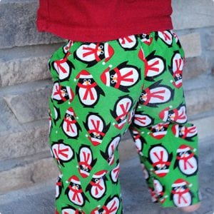 Holiday Pajamas Tutorial