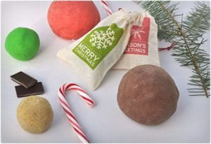 Holiday Scented Homemade Play Dough