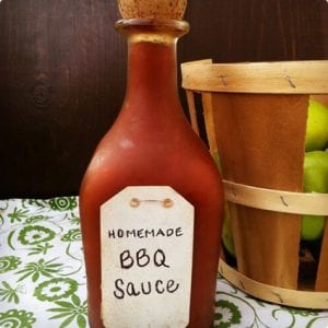 Homemade Healthy Barbecue Sauce