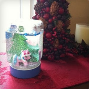 Homemade Snow Globes For Kids
