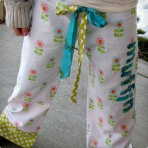 Idea For Personalized Pajama Pants