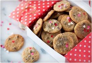 Itty Bitty Chocolate Chip Cookies