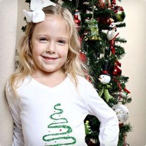 Kids Christmas Tree Shirt