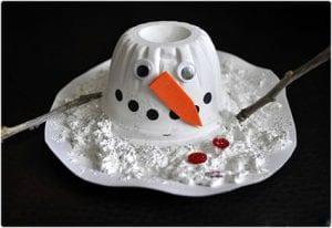 Melted Snowman Craft