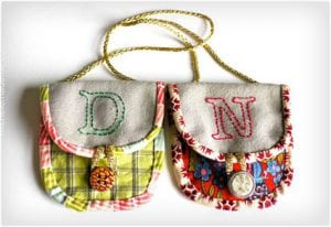 Mini Purse Ornaments