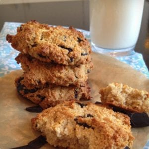Paleo Chocolate Chip Cookies With Homemade Chips