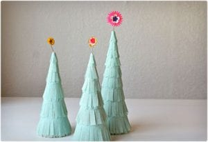 Paper Crepe Trees