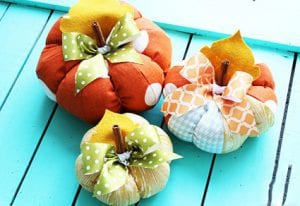Patchwork Pumpkin Craft