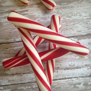 Peppermint Star Ornament Tutorial
