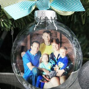 Photo Christmas Ornament Tutorial