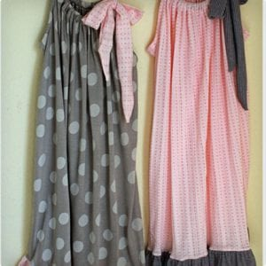 Pillow Case Style Pajama Dresses