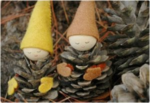 Pine Cone Gnome Craft