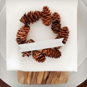 Pine Cone Wreath Placeholders