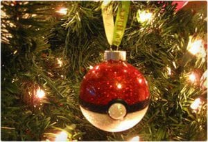 Pokeball Ornament Tutorial