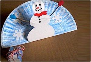 Pop-Up Snowman Kids Craft
