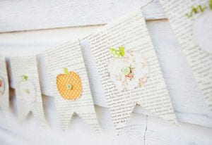 Pumpkin Bunting Craft