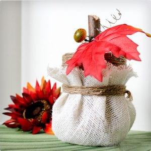 Pumpkin Candy Jar Craft