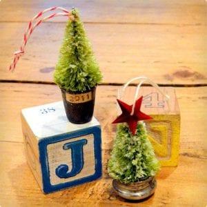 Re-purposing Bottle Brush Ornaments