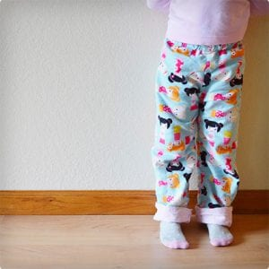 Reversible Pajama Pants