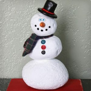 Rock Stack Snowman