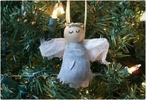 Rustic Angel Ornament Tutorial