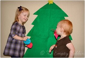Sewing Optional Felt Christmas Tree Craft