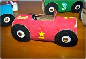 Simple Race Car Crafts