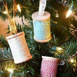Spool Ornament Tutorial