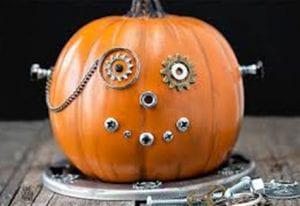 Steampunk Pumpkin Craft