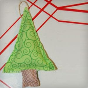 Stuffed Christmas Tree Ornament Tutorial