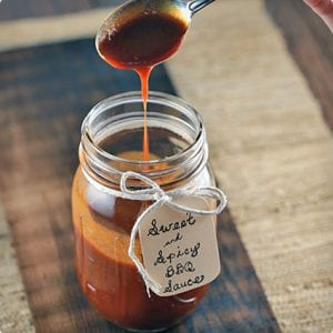 Sweet N' Spicy Homemade Barbecue Sauce