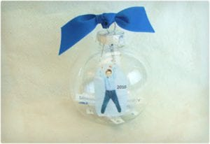 Time Capsule Style Ornaments For Kids