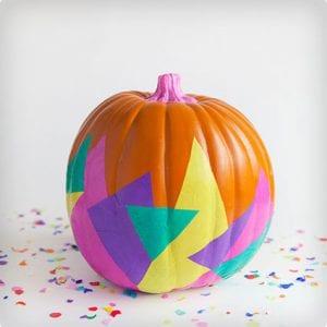 Tissue Covered Pumpkin