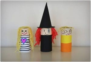 Toilet Paper Roll Paper Dolls