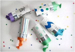 Toilet Paper Roll Party Poppers