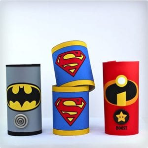 Toilet Paper Super Hero Cuffs