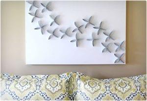 Toilet Paper Wall Art