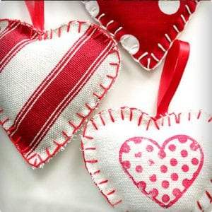 Versatile Homemade Heart Ornaments