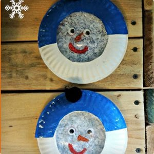 Waterless Snow Globe Snowmen