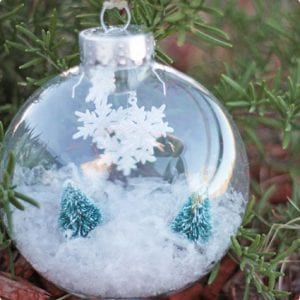 Winter Wonderland Ornament Tutorial
