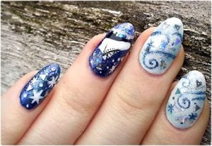 Wintry Nail Designs